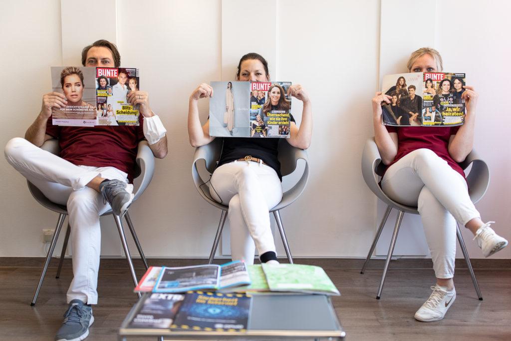 drei Zahnärzte